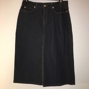 Halogen Jean Skirt